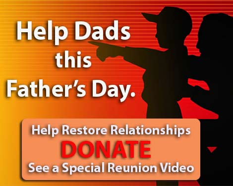 Donate to help the homeless and needy this Father's Day.