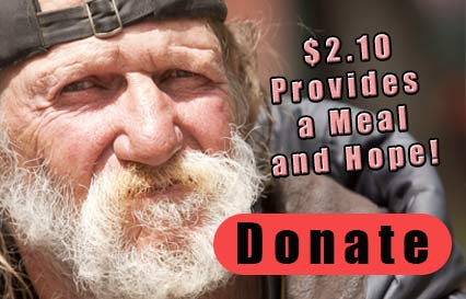 Donate to help the homeless and needy experience changed lives.
