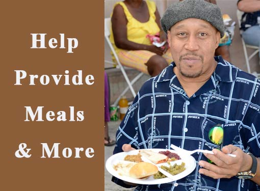Help Provide Meals and More